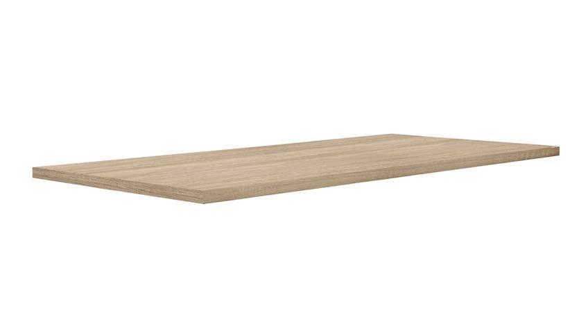 Esstisch TABLES Tischsystem D30 Sonoma Eiche und Chrom 180