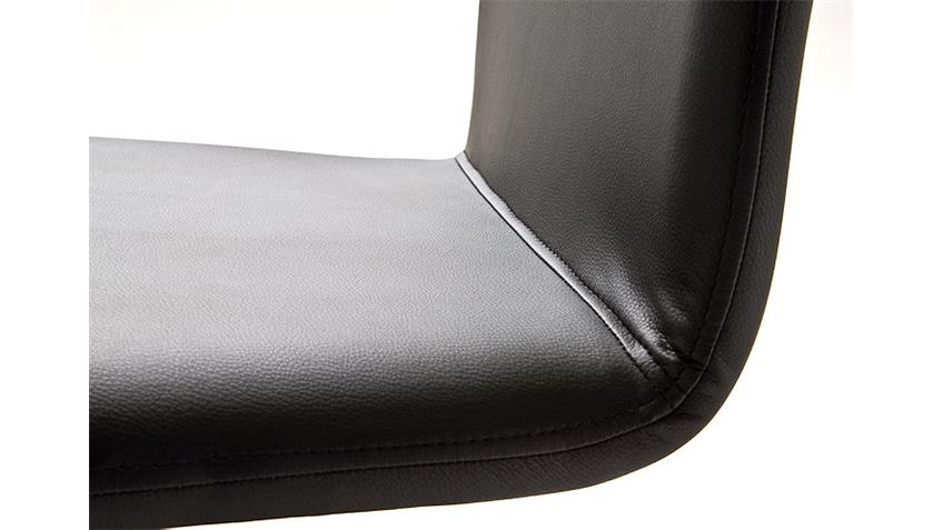 Schwingstuhl TEOX Stuhl in braun Schwinger mit Chromgestell