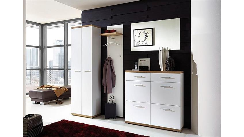 Wandspiegel 2 TOP Spiegel weiß Dekor Touchwood Oberfläche