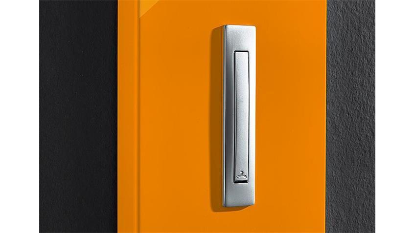 Garderobenpaneel COLORADO orange Hochglanz Germania