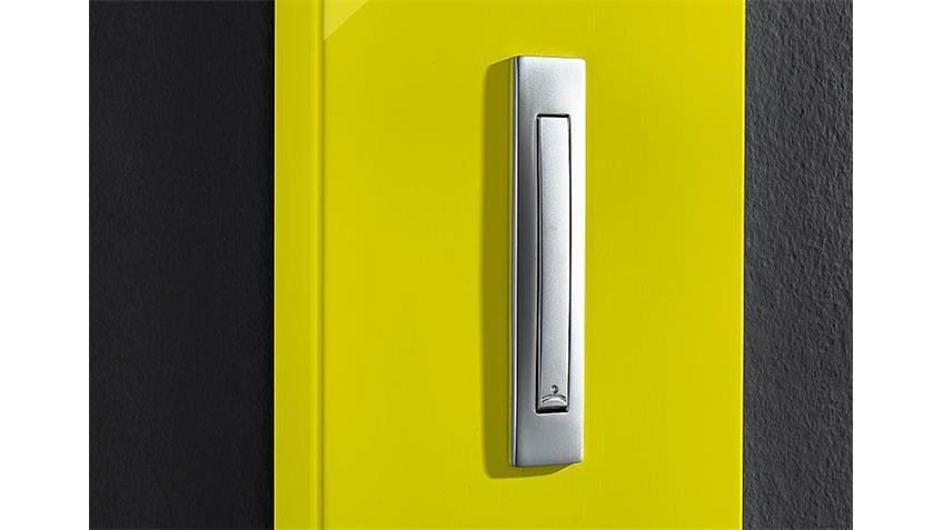 Garderobenpaneel COLORADO gelb Hochglanz Germania