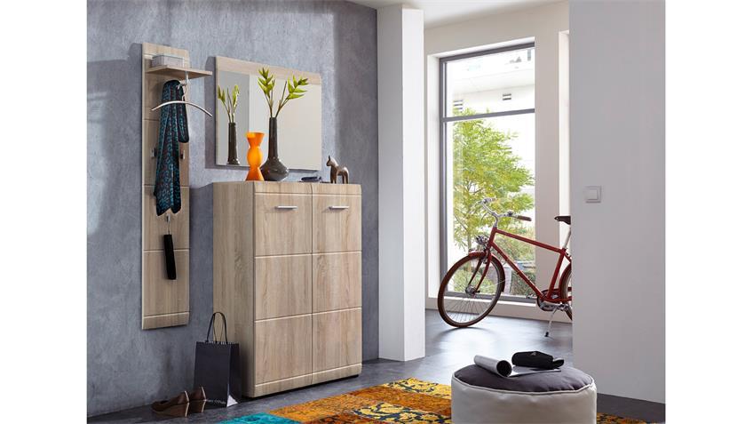 garderobenpaneel 3526 adana wandpaneel in sonoma eiche von germania. Black Bedroom Furniture Sets. Home Design Ideas