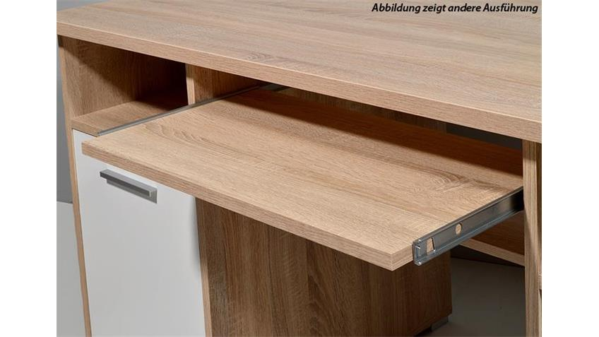 Schreibtisch anthrazit abschließbar 0484 Germania