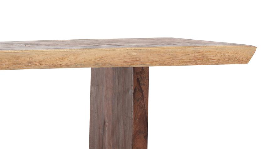 Esstisch SCOUT Suar Holz massiv gebeizt lackiert 220 cm