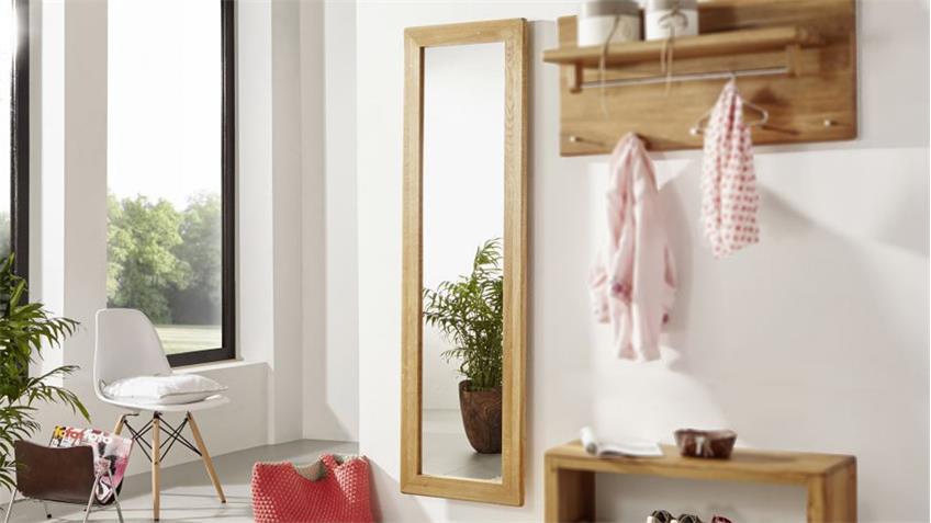 Spiegel GILGA Wandspiegel in Wildeiche massiv geölt 50x175 cm