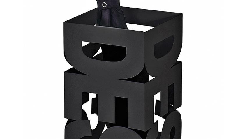 Schirmständer POP Schirmhalter Metall in schwarz lackiert