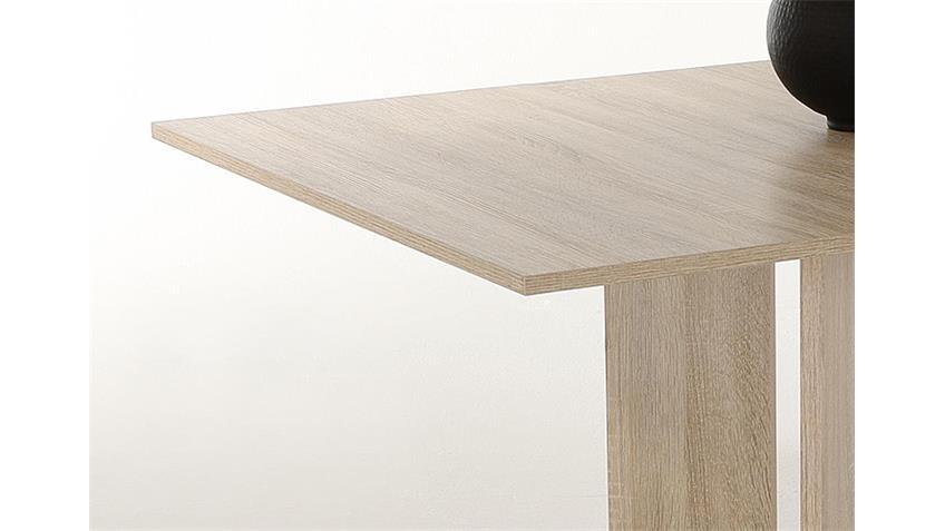 Esstisch CORA ausziehbar 90-128 cm Sonoma Eiche sägerau