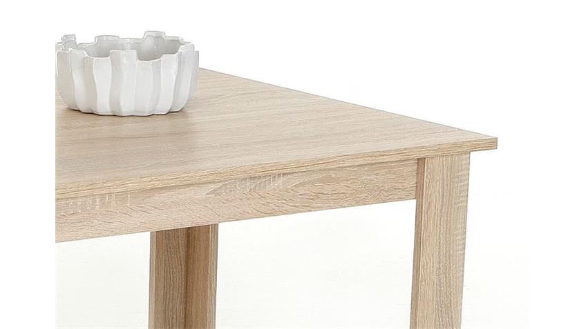 Esstisch DORIS Küchentisch Sonoma Eiche 120x80 cm