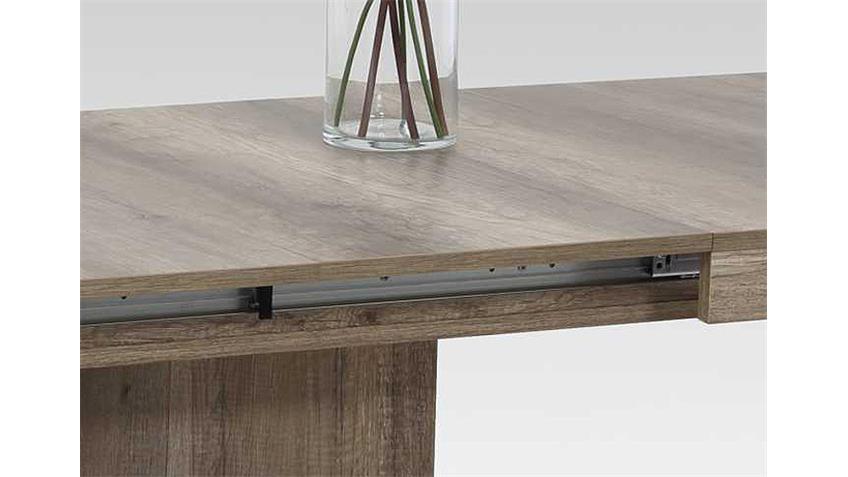Esstisch SCARLET in Wildeiche ausziehbar 140-220x90 cm