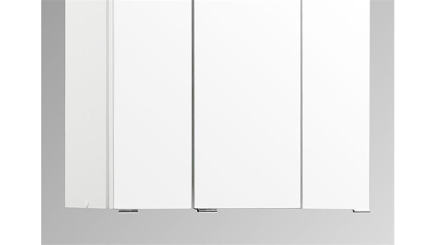 Bad Spiegelschrank 60 3D weiß inkl. Beleuchtung