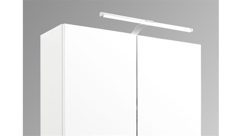 Bad Spiegelschrank 60 weiß inkl. Beleuchtung