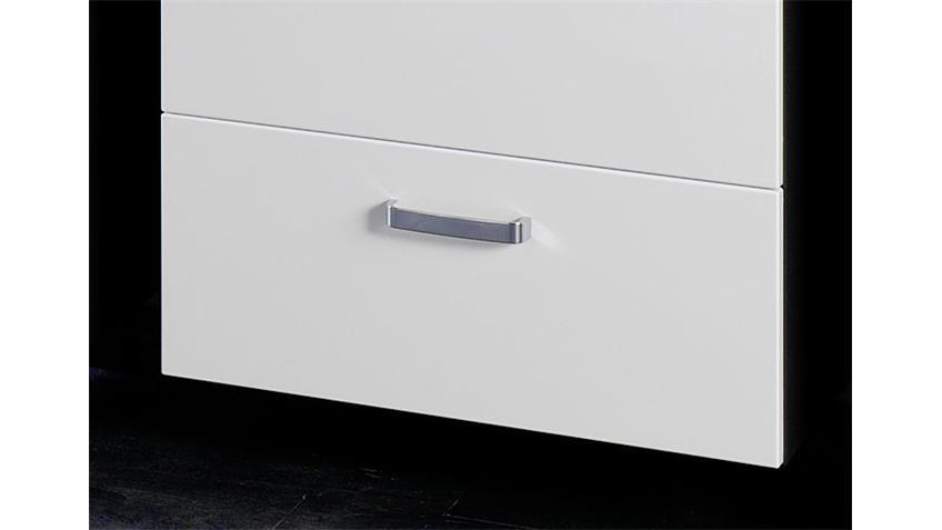Unterbeckenschrank BOLOGNA 60 Badmöbel grau weiß Hochglanz