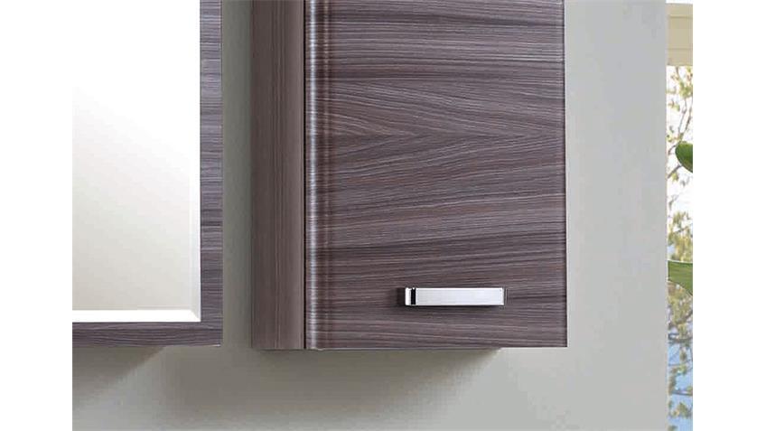 Badezimmer Set 3 PHÖNIX Eiche dunkel Glas weiß lackiert