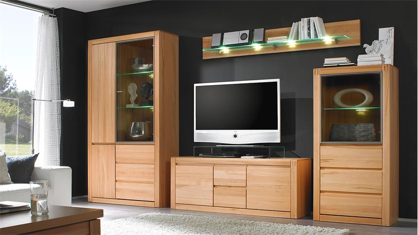 wandboard ponto wandregal regal in kernbuche massiv 179 cm. Black Bedroom Furniture Sets. Home Design Ideas