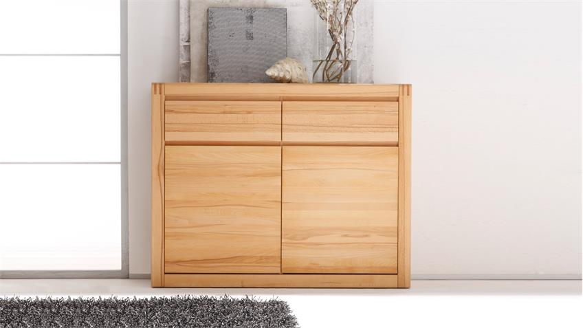Sideboard PONTO Highboard Kommode in Kernbuche teilmassiv