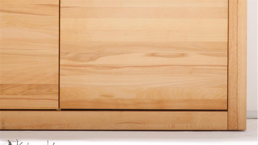 Sideboard PONTOS Highboard Kommode in Kernbuche teilmassiv