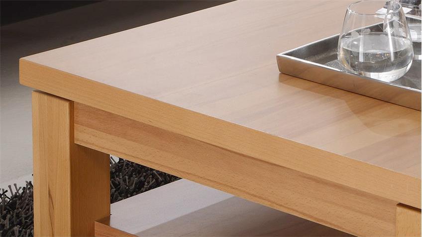 Couchtisch PONTOS Tisch Beistelltisch Kernbuche teilmassiv