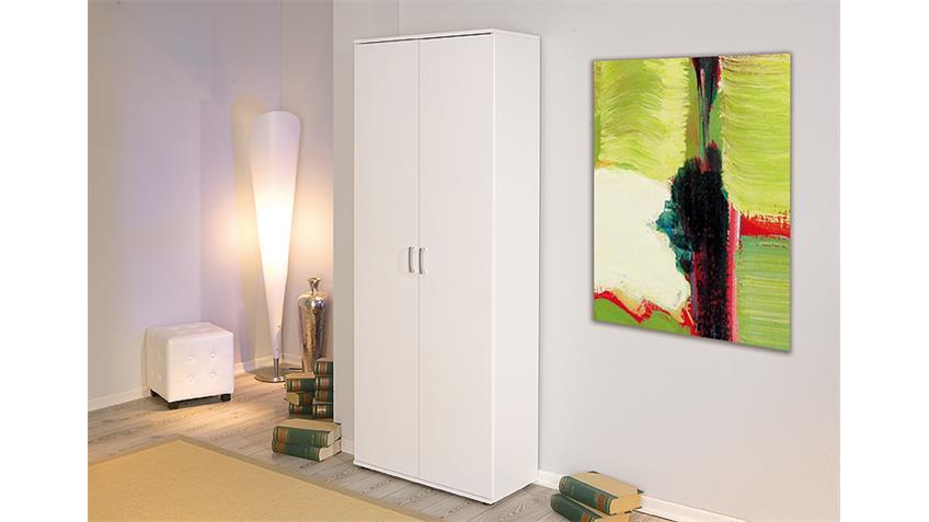 Mehrzweckschrank ARCONATI in weiß mit zwei Türen