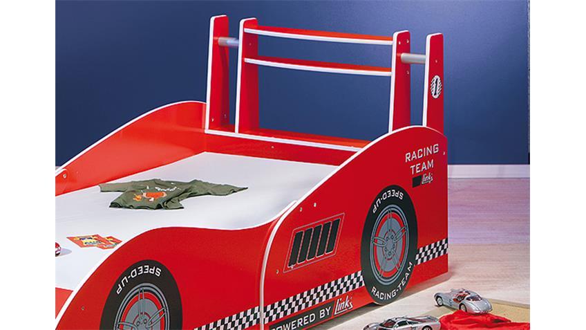 Kinderbett FINAL ONE FORMEL 1 Bett rot mit Aufdruck