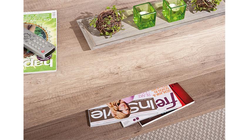 Couchtisch ABSOLUTO Beistelltisch TV Tisch Wildeiche Dekor