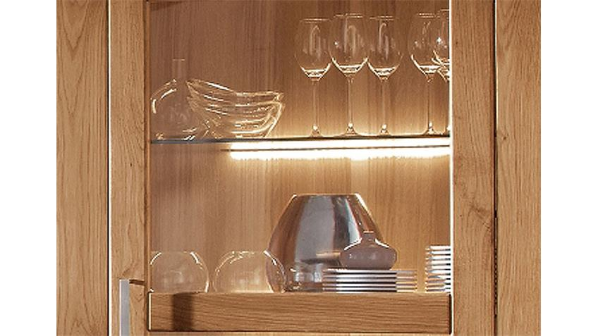 Glasbodenaufsteckleuchte Möbelprogramm LOFT Halogen