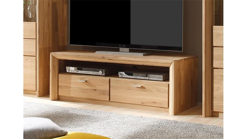 TV Board COTTAGE Eiche massiv geölt und gewachst