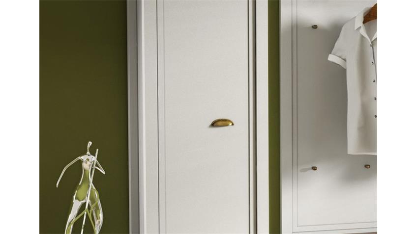 Garderobenschrank CHATEAU weiß und San Remo Eiche 26
