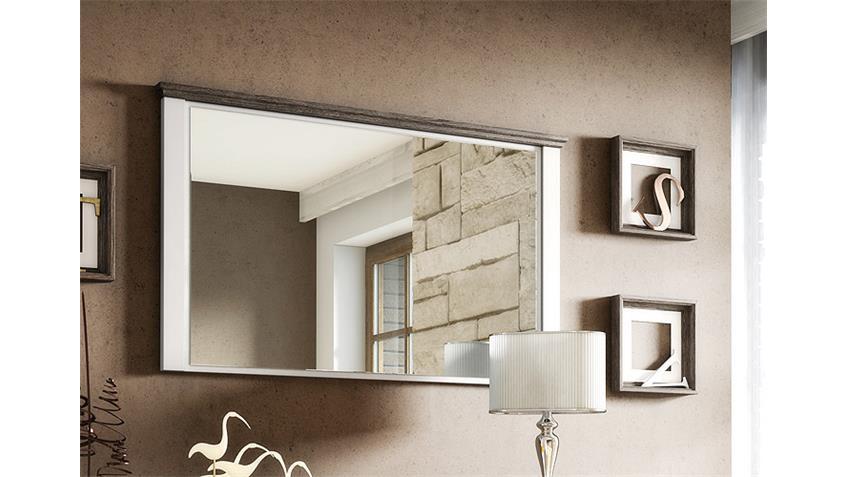 Spiegel CHATEAU weiß und San Remo Eiche 78