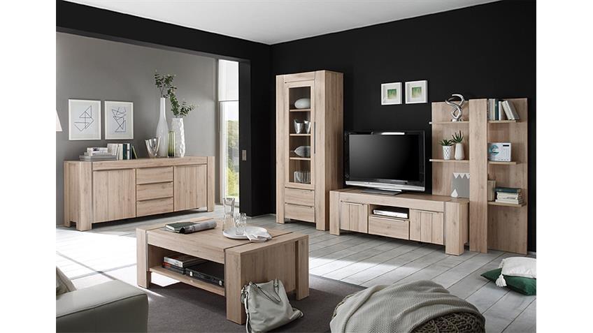couchtisch malm denmark eiche edelstahl optik geb rstet. Black Bedroom Furniture Sets. Home Design Ideas