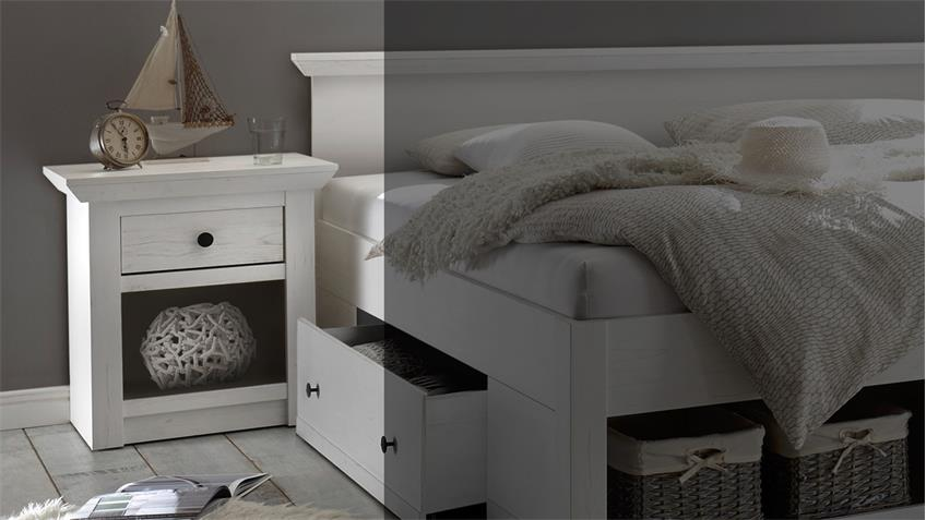 nachtkommode westerland kommode nako f r schlafzimmer in. Black Bedroom Furniture Sets. Home Design Ideas