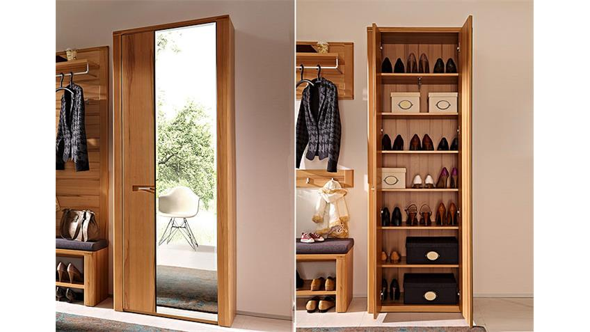 Garderobe NATURE PLUS 6-Tlg. Kernbuche massiv lackiert