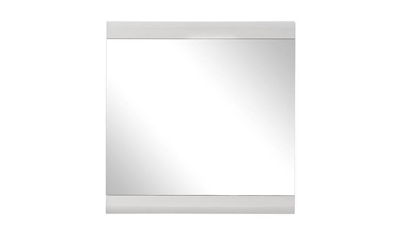 Spiegel FUNNY in weiß Garderobenspiegel Wandspiegel Paneel