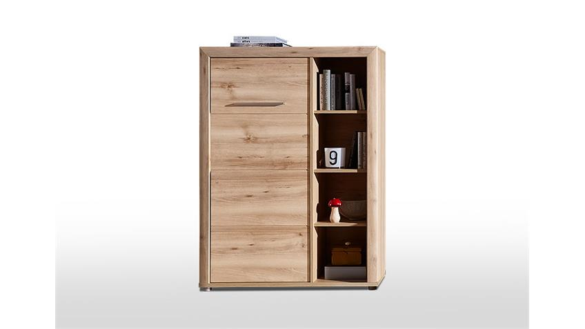 Stauraumelement RUN Schrank Highboard in Buche hell