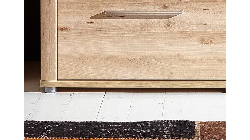 TV-Board RUN Lowboard Unterschrank Buche hell inkl. LED