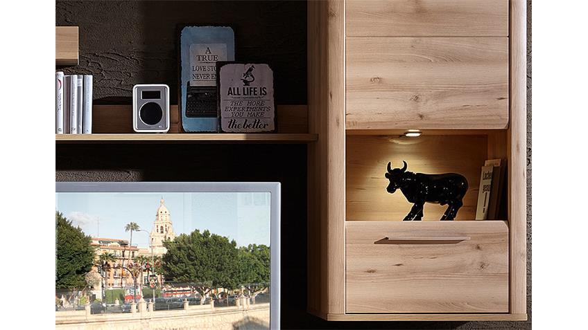 Wohnwand Buche Hell Kaufen : stilvolle und moderne Wohnwand aus dem Programm RUN ist in Buche hell