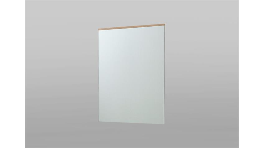 Wandspiegel Reno Spiegel in weiß und Buche 65/84/4 cm