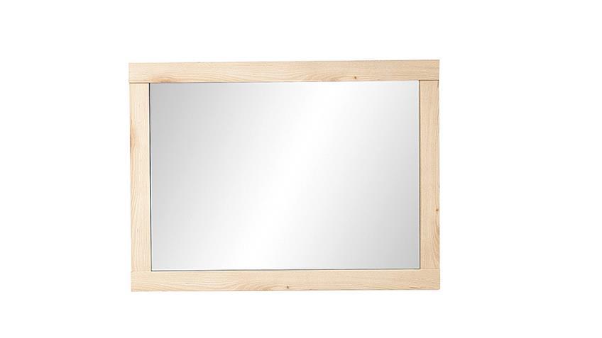 Spiegel TARGA Wandspiegel Dekospiegel in Buche hell 92x68 cm