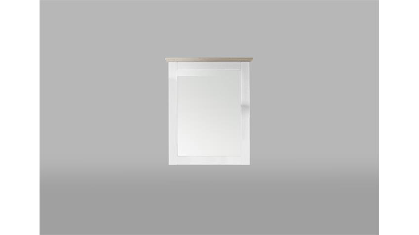 Spiegel LIMA Wandspiegel Dekorspiegel Pinie hell Taupe 69 cm