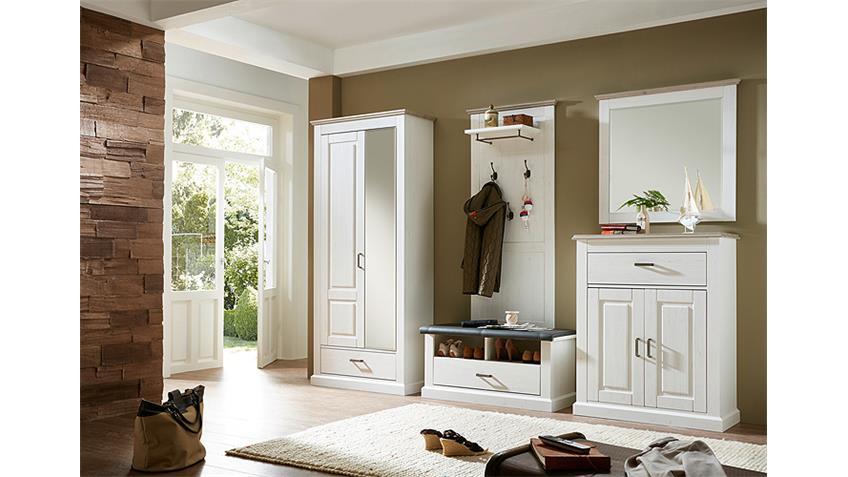 Spiegel LIMA Wandspiegel Dekorspiegel Pinie hell Taupe 89 cm