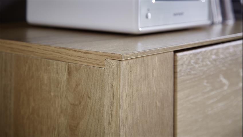 Sideboard DINARO Kommode Anrichte in Eiche hell 170 cm breit