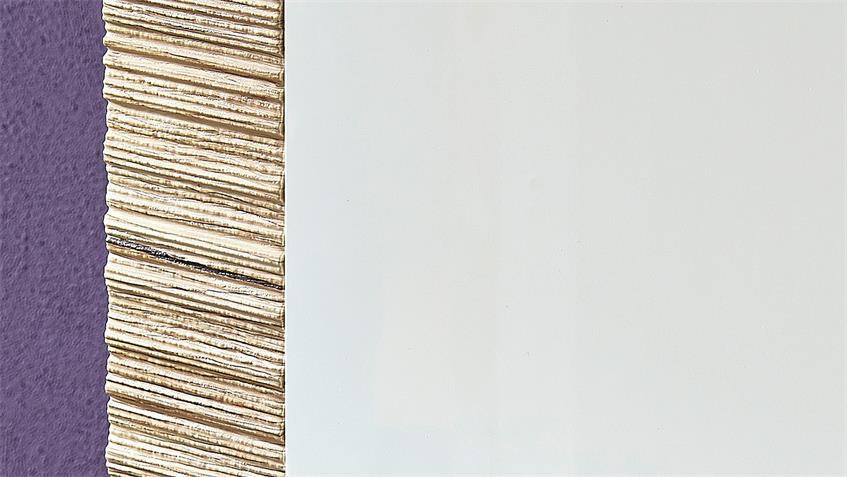 Schuhschrank CONTEST X weiß Hochglanz San Remo Eiche 100 cm