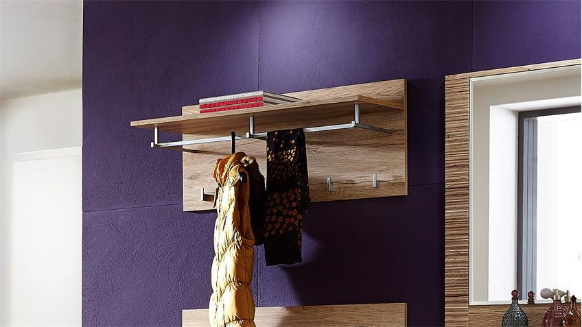 Garderobenpaneel 1 CONTEST X Wandgarderobe in San Remo Eiche