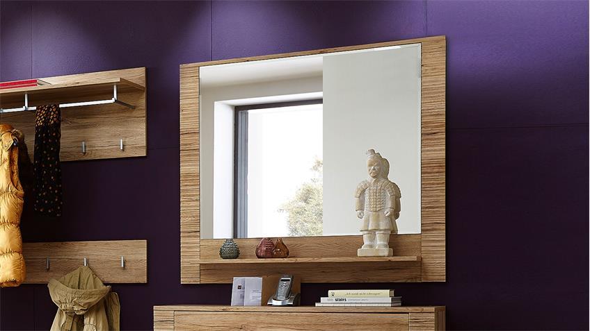 Spiegel CONTEST X Wandspiegel in San Remo Eiche 100 cm