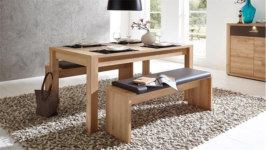 Esstisch BANKO Tisch Esszimmertisch in Buche 160-240 cm
