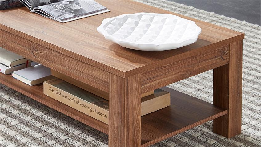 Couchtisch BANKO Wohnzimmertisch Tisch in Akazie 120