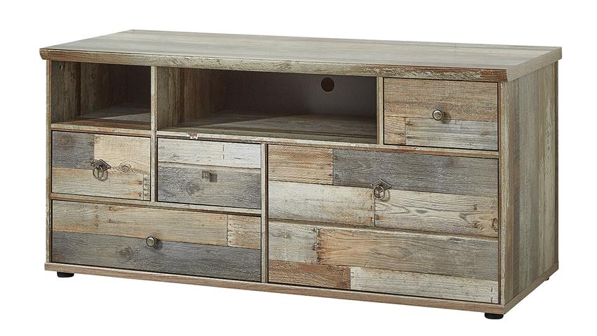 lowboard bonanza tv unterteil in driftwood b 130 cm. Black Bedroom Furniture Sets. Home Design Ideas