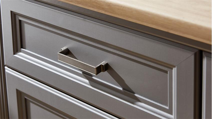 Sideboard YASE Kommode Anrichte in graphit und Artisan Eiche 166x102