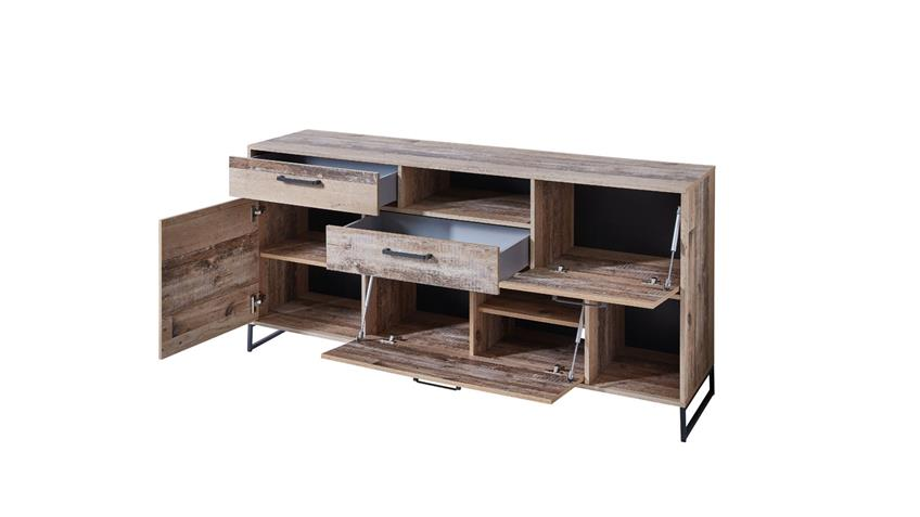 Sideboard ROOF Anrichte Kommode Schrank in Used Style 172x81 cm