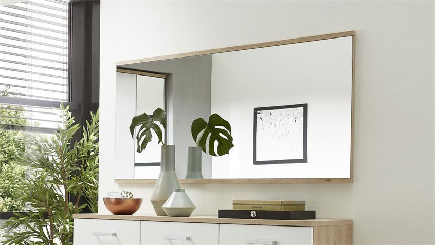 Spiegel ARKONA Wandspiegel Hängespiegel in Jackson Eiche 138x70 cm