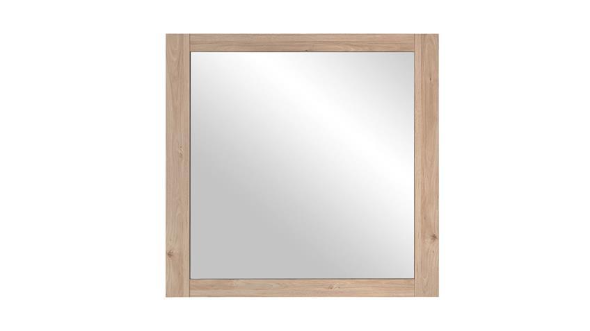 Spiegel FINCA Hängespiegel Wandspiegel Flurmöbel Jackson Eiche 90x87